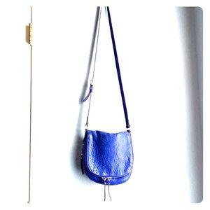 Vince Camuto | Leather Crossbody Bag Lapis Blue